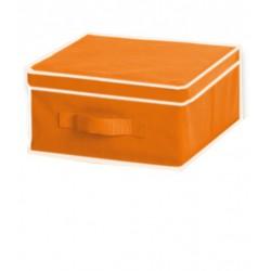 CAJA ALMACENAJE TNT Naranja 33x40x18 cm.