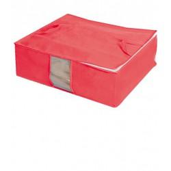Ahorra espacio organizadores para cajones baules de tela for Cajas bajo cama carrefour