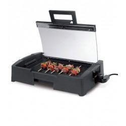 Plancha grill con tapa