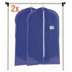 Funda guarda ropa azul pack ahorro 2 uds.