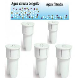 FILTRO DE AGUA JOCCA SET DE CINCO UNIDADES