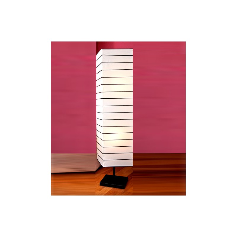 L mpara de pie de papel jocca shop - Lamparas de pie de papel ...