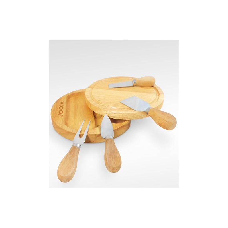 Tabla de quesos y cuchillos para quesos for Set cuchillos villeroy boch tabla