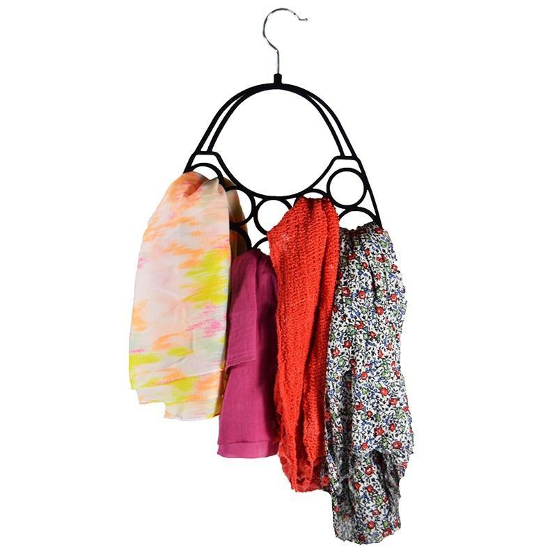 organiseur foulards et charpes cintre de rangement pour penderie. Black Bedroom Furniture Sets. Home Design Ideas