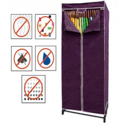 FABRIC PURPLE WARDROBE