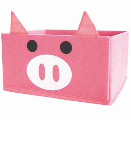2 PINK PIG ORGANIZER DRAWERS