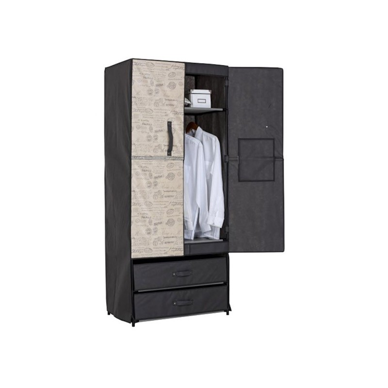 Clothing Cabinet With Drawers And Rigid Door Jocca Shop