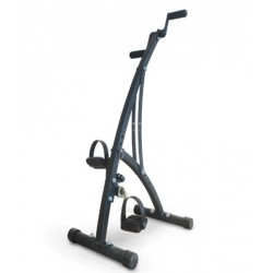 FOLDING DOUBLE PEDAL EXERCISER