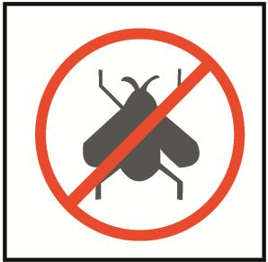 Protege de insectos