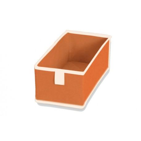 Pack de 2 cajones para zapatero TNT Naranja