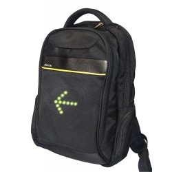 EXECUTIVE CYCLING BACKPACK WITH LIGHT INDICATORS