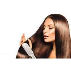 Mini cepillo electrico de pelo