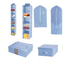 Set 6 unidades de organización azul