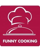 Funny cooking. Electrodomesticos y menaje de cocina divertida