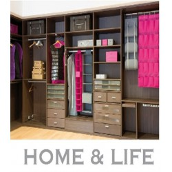 2 PINK DRAWERS FOR ORGANIZER
