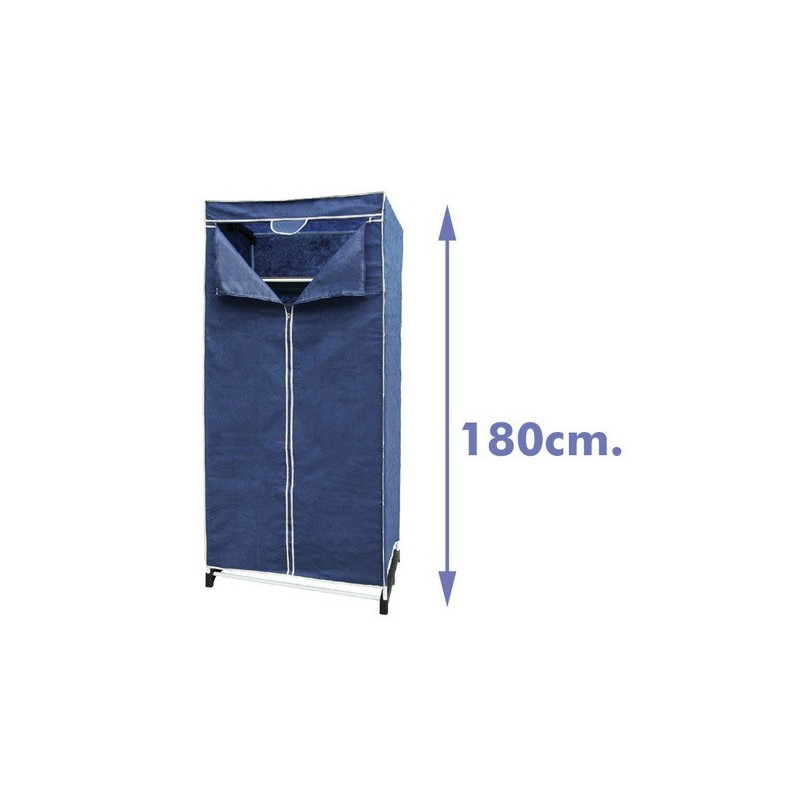 SINGLE FABRIC BLUE WARDROBE