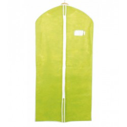 Funda guardarropa señora verde 60x136 cm.