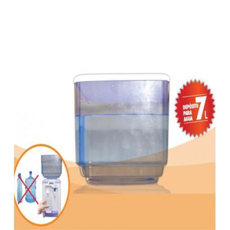 Almacenamiento de Agua Inpress Plastics Water Color Transparente Talla 25 Litre