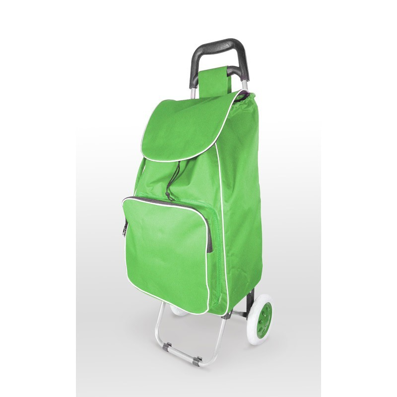 SHOPPING TROLLEY WITH A THERMAL INSULATION POCKET