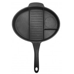 MULTI SECTION DIVIDED FRYING PAN