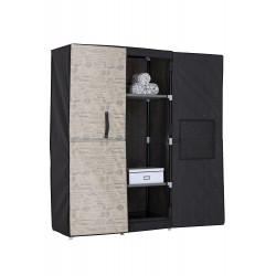CLOTHING CABINET WITH RIGID DOORS