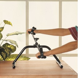 MINI EXERCISE BIKE RED/BLACK
