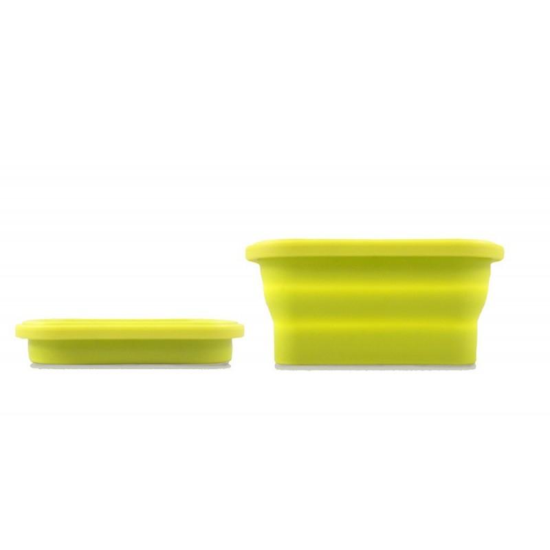 Set de recipientes de silicona plegables